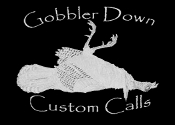 Gobbler Down Window Sticker
