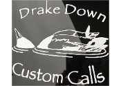 Drake Down Window Sticker